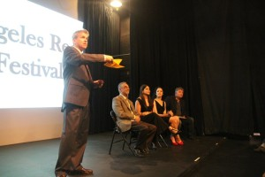 Los Angeles Reel Film Festival - Q & A at Award Ceremony THE MILLER PREDICTION